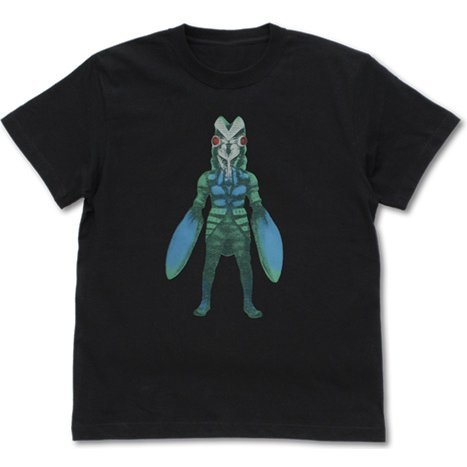 Ultraman - Alien Baltan Nostalgic T-shirt Black (S Size)