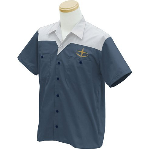 Mobile Suit Gundam - E.F.F. Design Work Shirt Amuro Ver. (M Size)