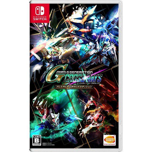 SD Gundam G Generation Cross Rays [Premium G Sound Edition] (Multi-Language)