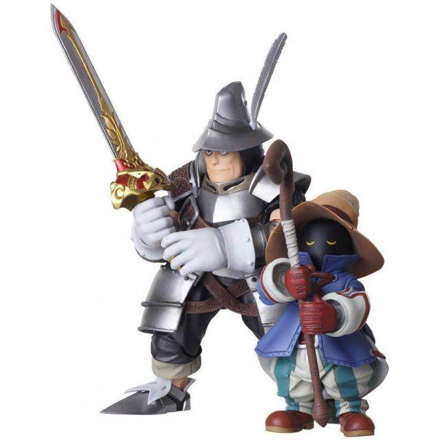 Final Fantasy IX Bring Arts: Vivi Ornitier & Adelbert Steiner