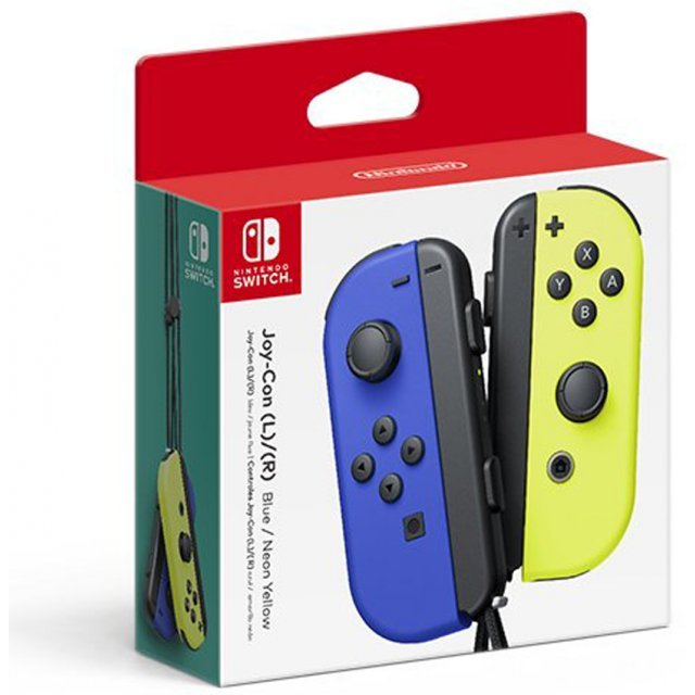 Nintendo Switch Joy-Con Controllers (Blue / Neon Yellow)