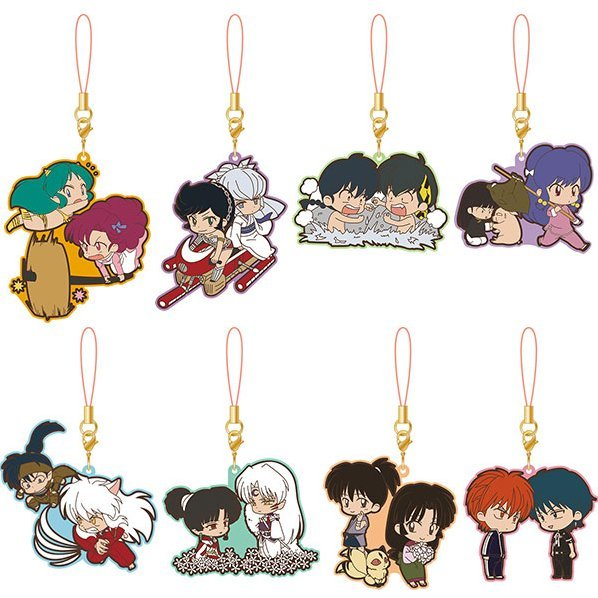 Rumiko Takahashi Rumic Rubber Strap Collection 5th Season (Set of 8 pieces)