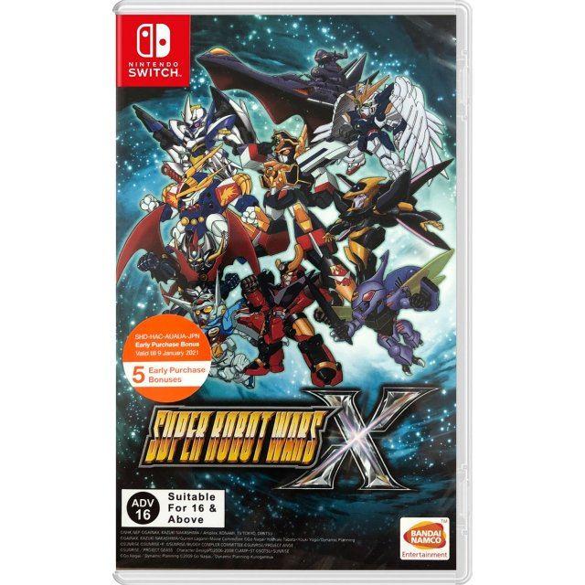 Super Robot Wars X (Multi-Language) (English Cover)