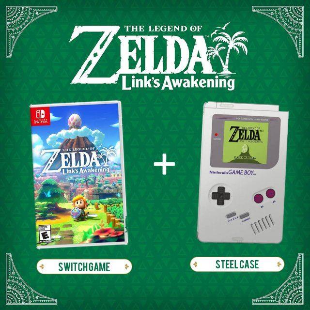 The Legend Of Zelda Link S Awakening Steel Case Edition Multi Language