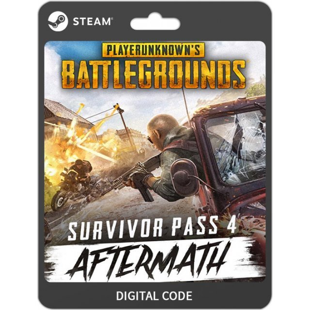 Playerunknown's Battlegrounds: Survivor Pass 4 Aftermath (DLC)
