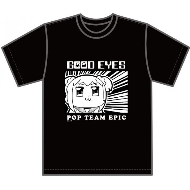 Pop Team Epic - Good Eyes T-shirt (M Size)