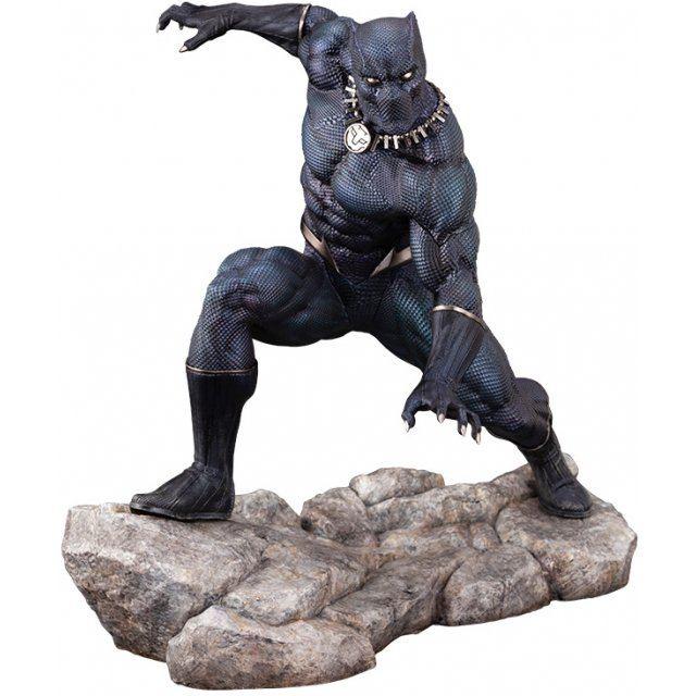 Artfx Premier Marvel Universe Avengers 1/10 Scale Pre-Painted Figure: Black Panther