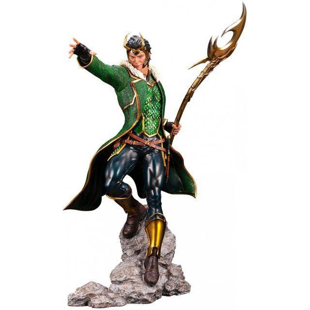 Artfx Premier Marvel Universe Avengers 1/10 Scale Pre-Painted Figure: Loki