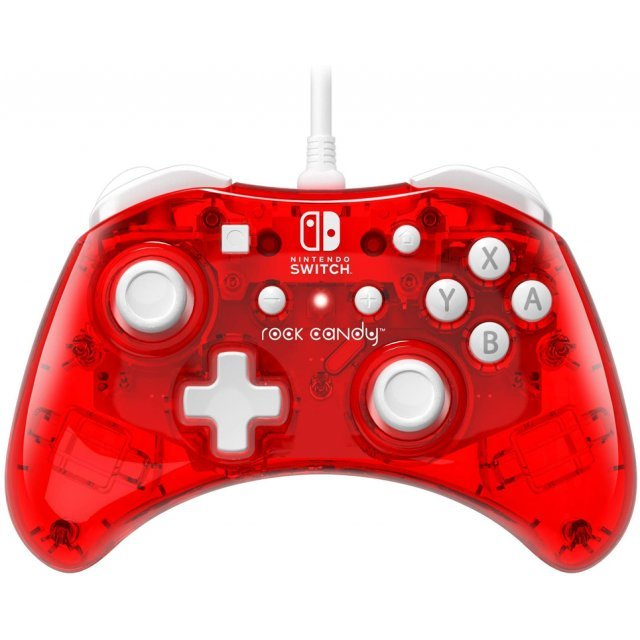 Rock Candy Wired Controller for Nintendo Switch (Stormin Cherry)