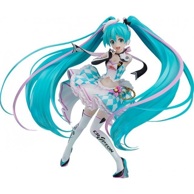 Hatsune Miku GT Project 1/8 Scale Pre-Painted Figure: Racing Miku 2019 Ver. feat. Annindoufu