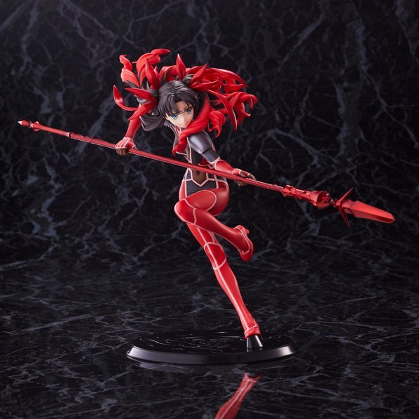 Fate/Extra Last Encore 1/7 Scale Pre-Painted Figure: Rin Tohsaka Battle Ver.