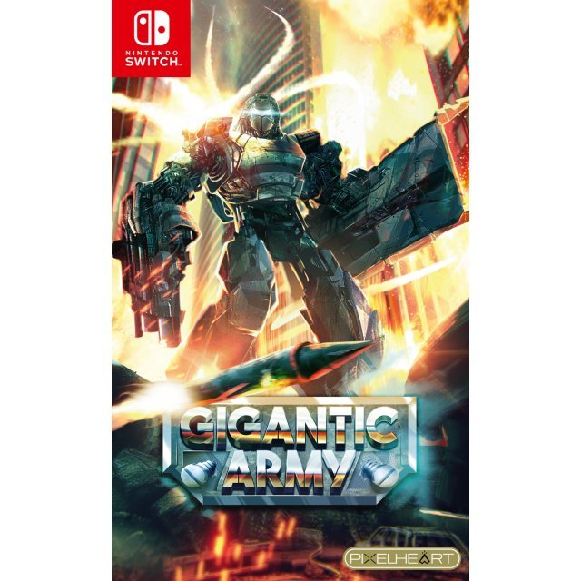 GIGANTIC ARMY (Multi-Language) (Japan Cover)