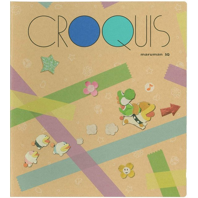 Yoshi's Crafted World YCZ02 Croquis Book Illustration