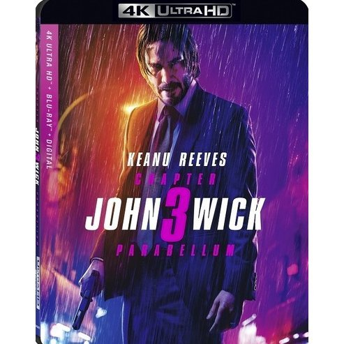 John Wick: Chapter 3 - Parabellum [4K Ultra HD Blu-ray]