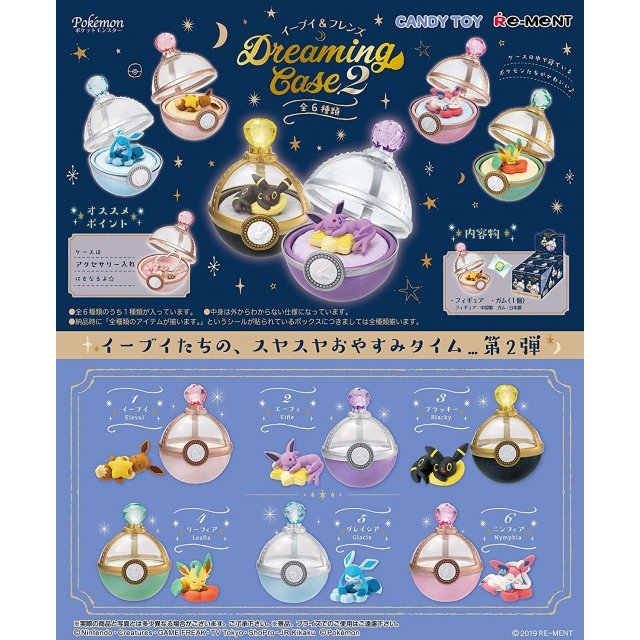 Pokemon Eievui & Friends Dreaming Case 2 (Set of 6 pieces)