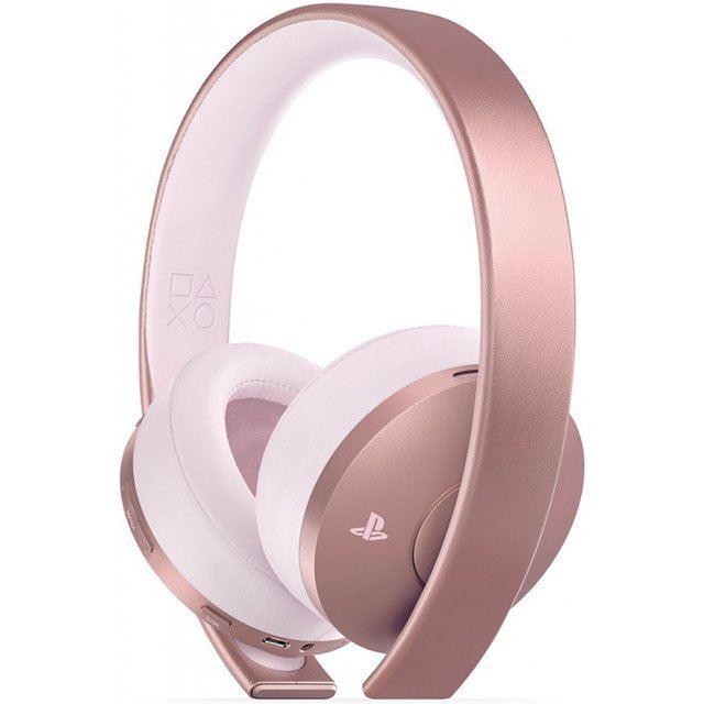 playstation gold wireless headset rose gold edition. Black Bedroom Furniture Sets. Home Design Ideas
