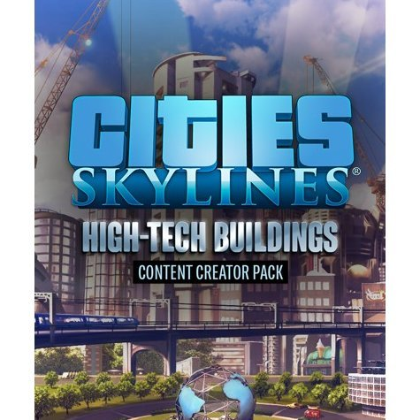 Cities: Skylines - Content Creator Pack: High-Tech Buildings (DLC)