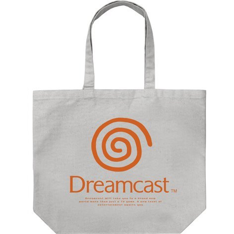 Dreamcast Large Tote Bag Gray