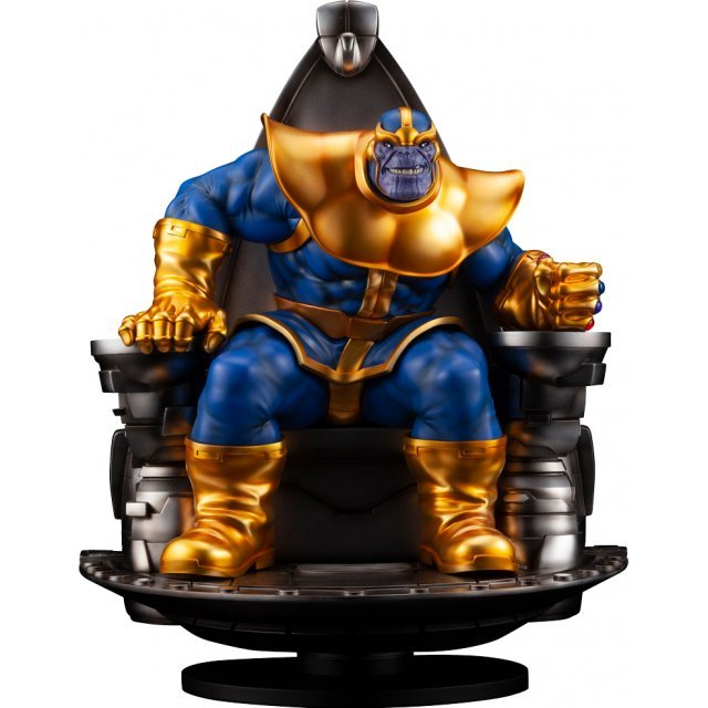 Marvel Universe Avengers 1/6 Scale Maximum Fine Art Statue: Thanos On Space  Throne