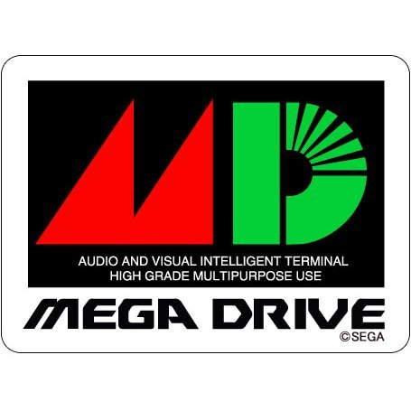 Mega Drive Waterproof Sticker