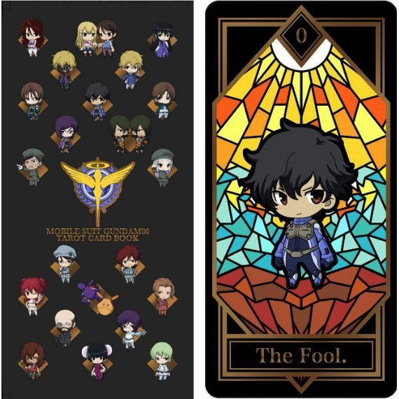 Mobile Suit Gundam 00 Tarot Card Book