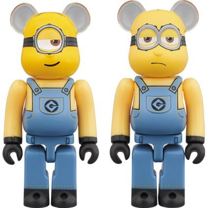 Be@rbrick Despicable Me 3: Stuart & Kevin 2 Pack