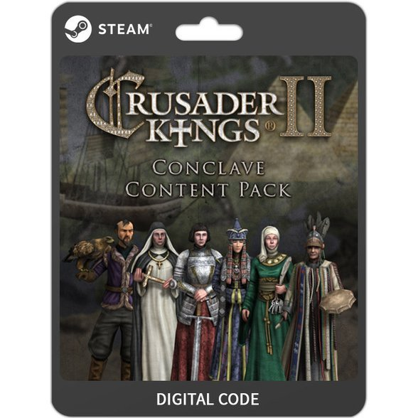 Crusader Kings II - Conclave -Content Pack (DLC)