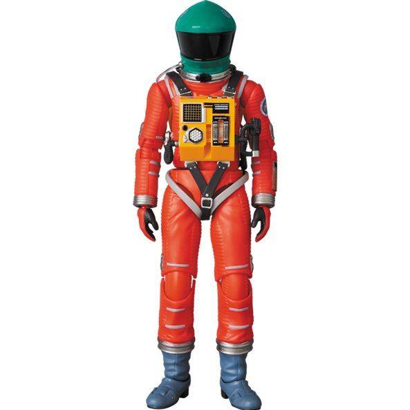 MAFEX No.110 2001 A Space Odyssey: Space Suit Green Helmet & Orange Suit Ver.