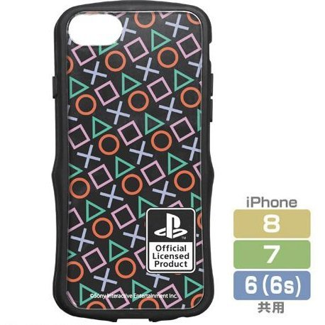 PlayStation TPU Bumper iPhone Case: PlayStation Shapes (iPhone 6/7/8)