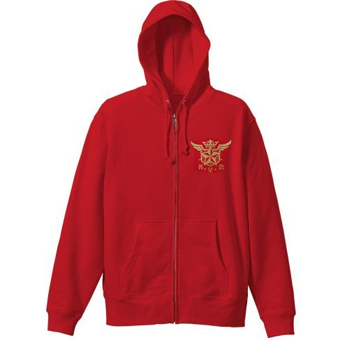 White Cat Project - Meiseikai Zippered Hoodie Red (S Size)