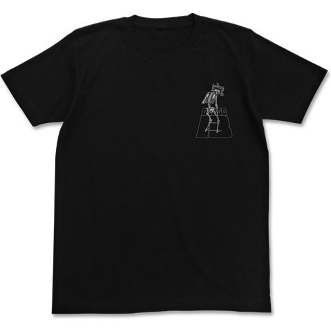 Golgo 13 - Message T-shirt Black (L Size)