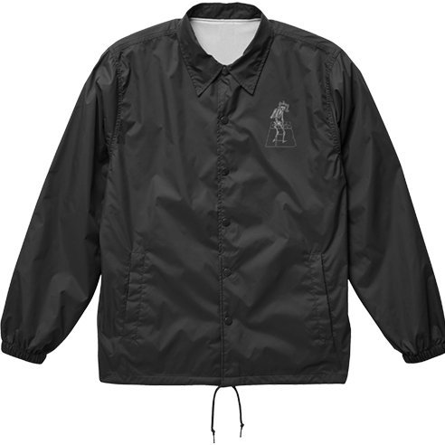 Golgo 13 - Skeleton Logo Coach Jacket Black (XL Size)