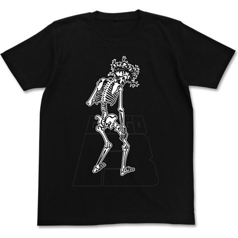 Golgo 13 - Skeleton Logo T-shirt Black (XL Size)