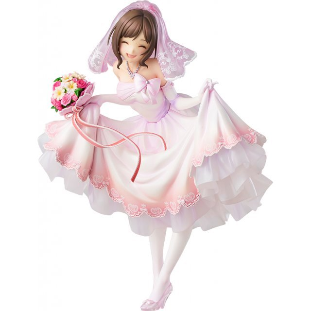 The Idolmaster Cinderella Girls 1/7 Scale Pre-Painted Figure: Miku Maekawa Dreaming Bride Ver.