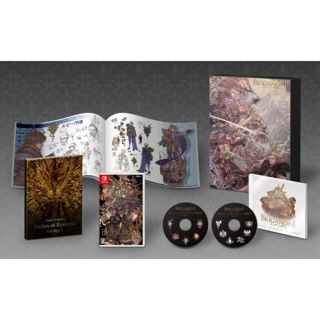 Brigandine: The Legend of Runersia [Limited Edition] (Multi-Language)