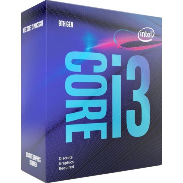 Intel Core i3-9100F, 4x 3.60GHz, boxed