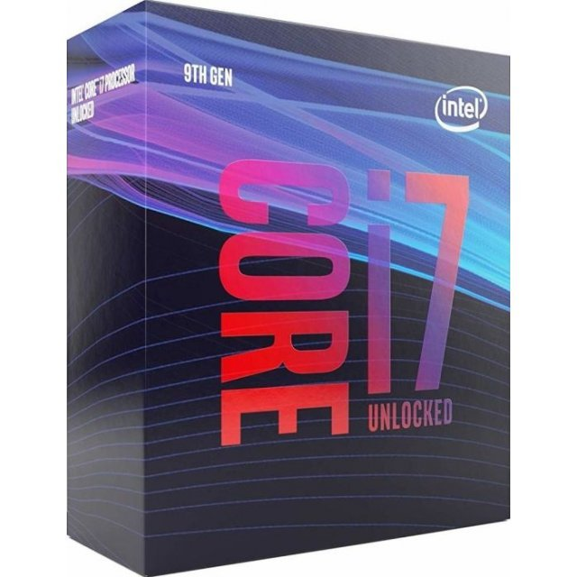 Intel Core i7-9700K, 9x 3.60GHz, boxed without cooler