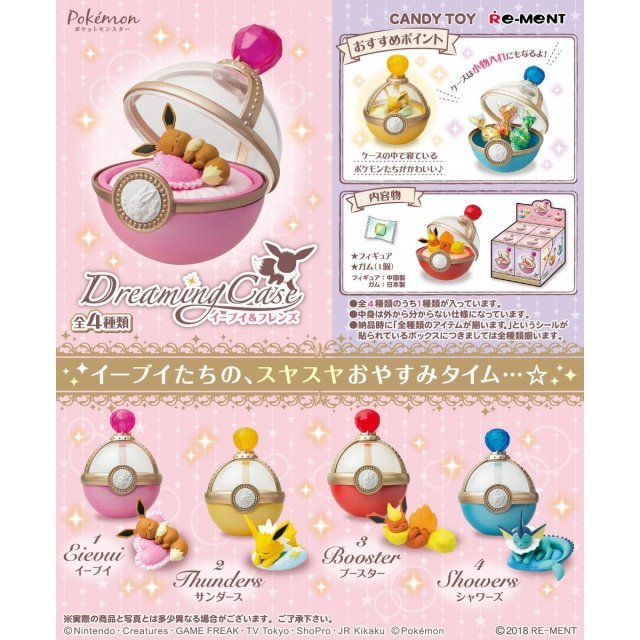 Pokemon Eievui & Friends Dreaming Case (Set of 4 pieces) (Re-run)