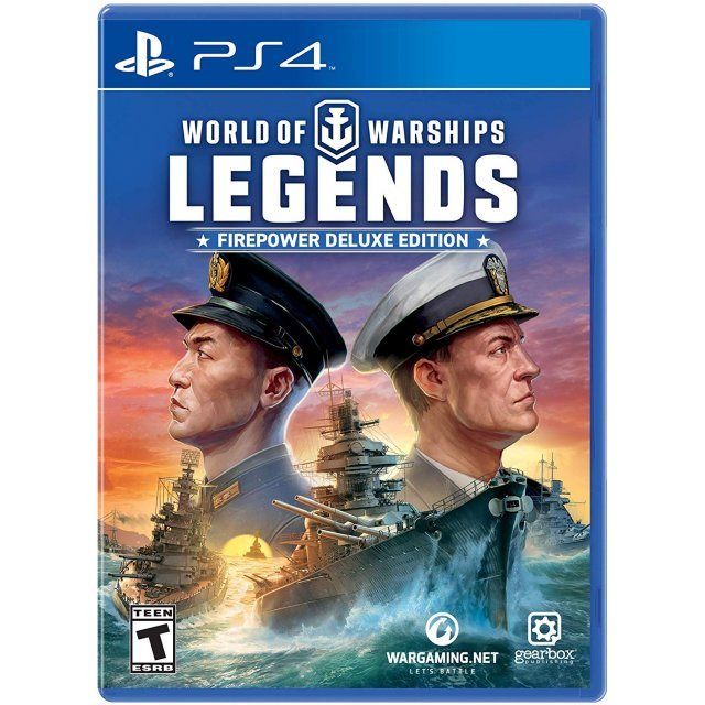 World of Warships: Legends Firepower [Deluxe Edition]