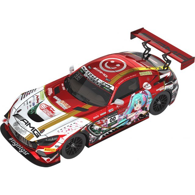 Hatsune Miku GT Project 1/43 Scale Miniature Car: Mercedes-AMG Team Good Smile 2019 Suzuka 10Hours Ver.