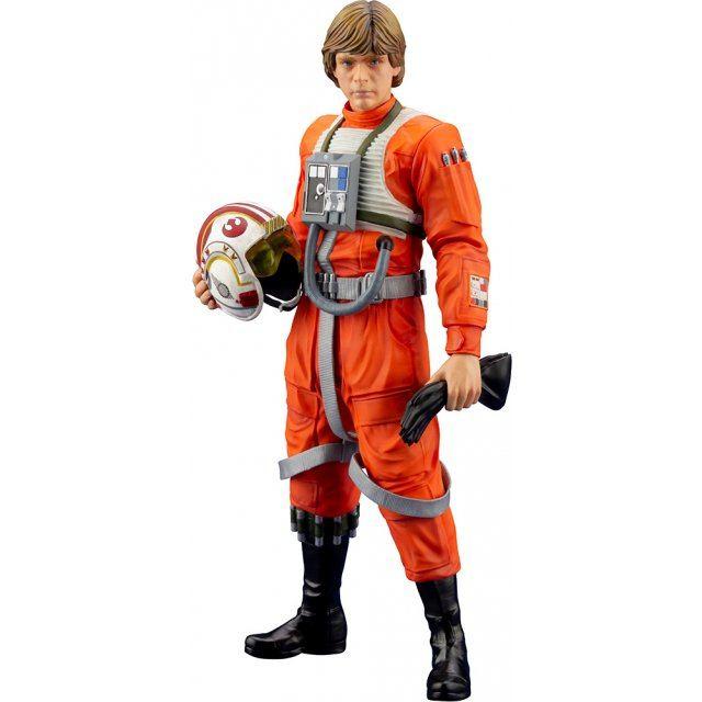 ARTFX+ Star Wars Episode IV A New Hope 1/10 Scale Pre-Painted Figure: Luke Skywalker X-Wing Pilot