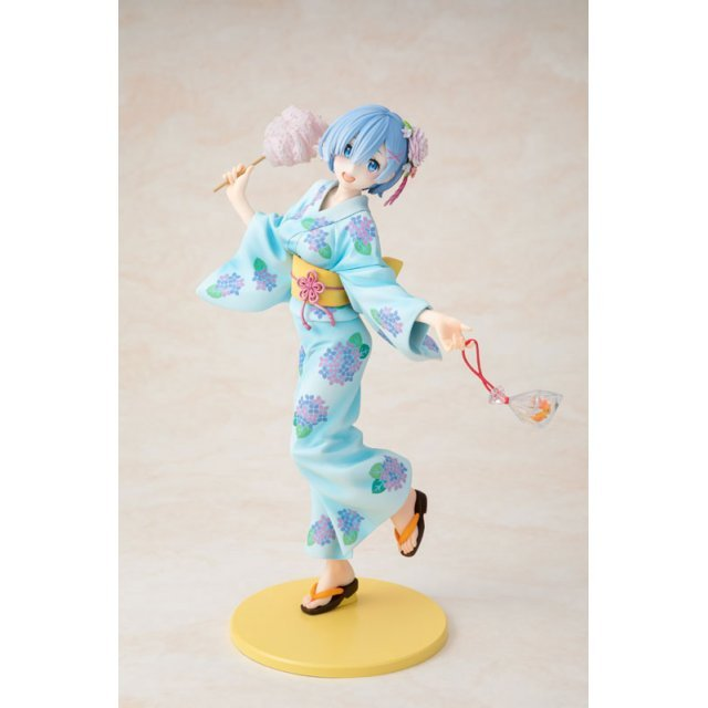 KDcolle Re:Zero kara Hajimeru Isekai Seikatsu 1/7 Scale Pre-Painted Figure: Rem Yukata Ver. Repaint