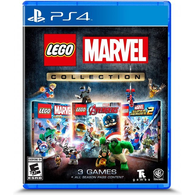 LEGO Marvel Super Heroes (Latam Cover)
