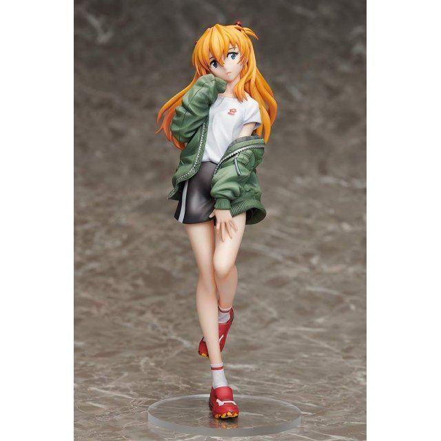 Neon Genesis Evangelion 1/7 Scale Pre-Painted Figure: Asuka Shikinami Langley Ver. Radio Eva