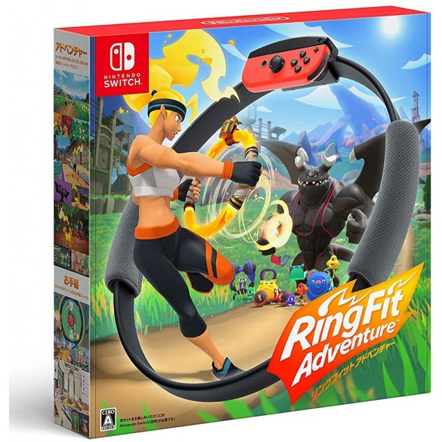 Ring Fit Adventure for Nintendo Switch (Multi-Language)