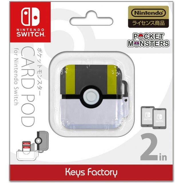 Pocket Monsters Card Pod for Nintendo Switch (Ultra Ball)