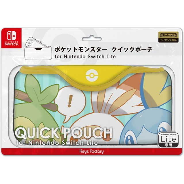 Pokemon Quick Pouch for Nintendo Switch Lite (Friends)