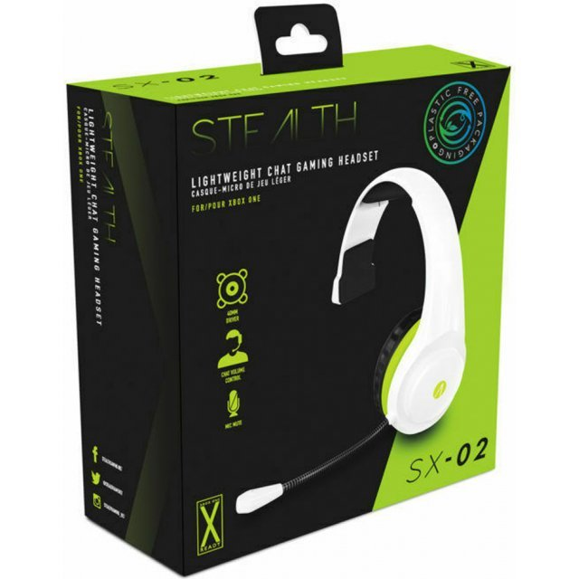 STEALTH SX-02 Lightweight Chat Gaming Headset for Xbox One