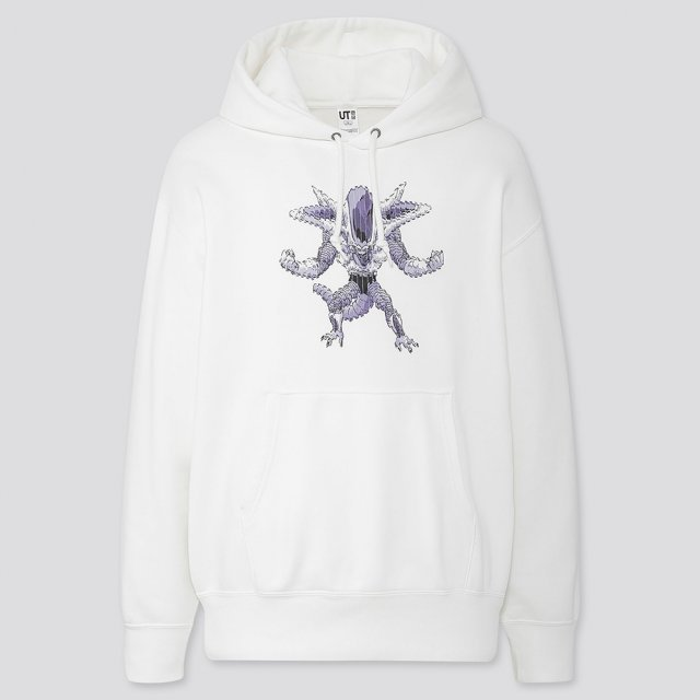 UT Dragon Ball Z - Frieza Pullover Hoodie Off White (S Size)