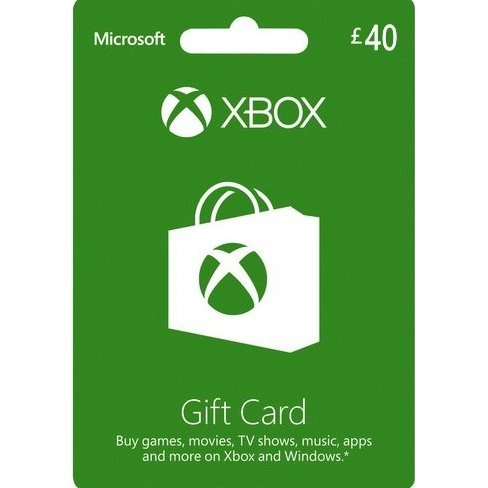 Xbox Gift Card GBP 40 | UK Account Only